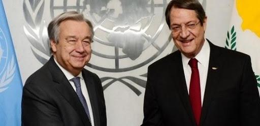 Anastasiadis- Guterres görüşmesi sona erdi