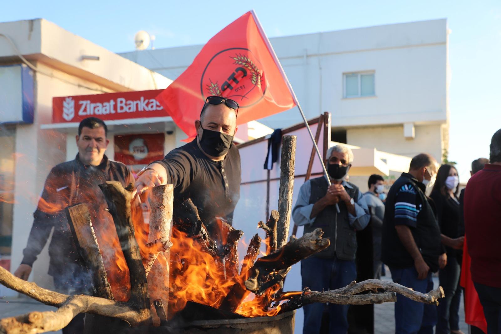 Barış Ateşi Güzelyurt ve İskele'de yandı