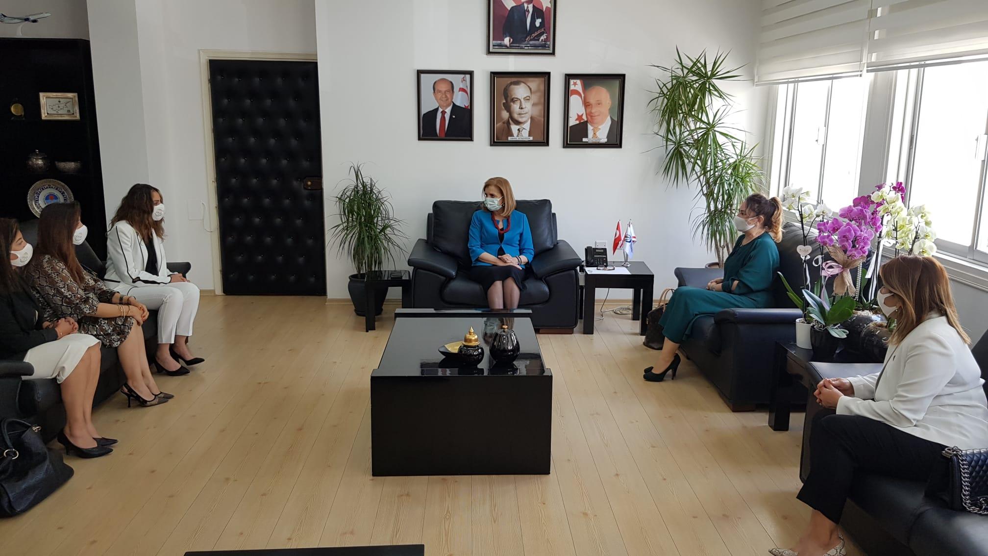 Canaltay, GİKAD heyetini kabul etti