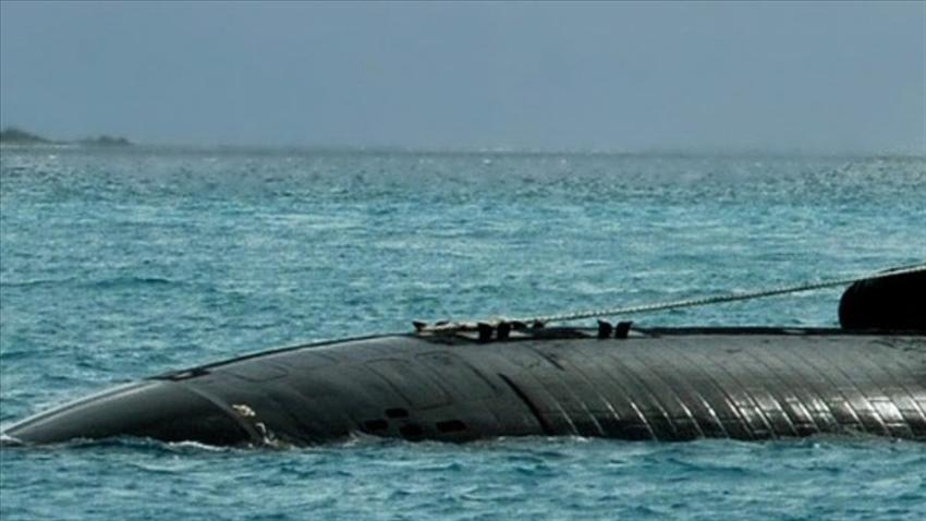 Denizaltının bütün personeli hayatını kaybetti