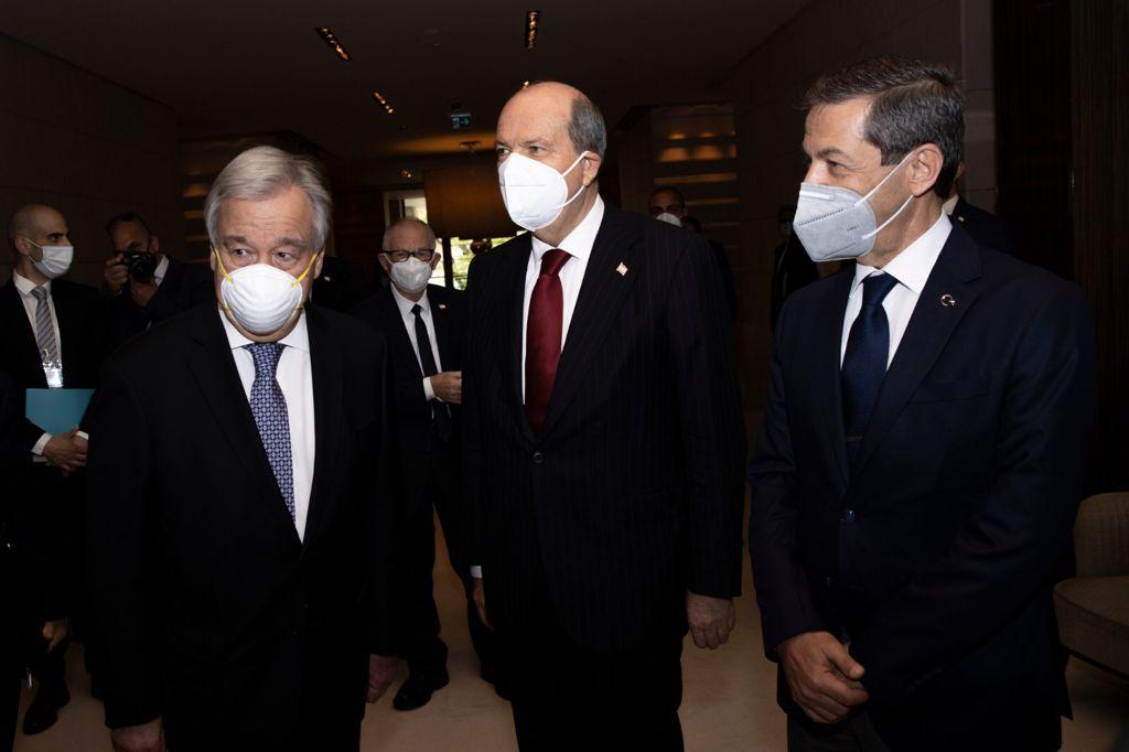 Tatar- Guterres görüşmesi başladı