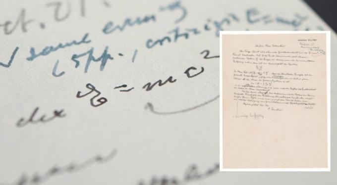 Einstein'in el yazısı mektubu 1.2 milyon dolara satıldı!