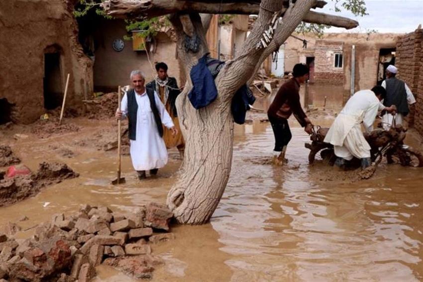 Afganistan'da sel felaketi