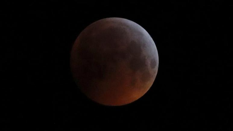 Hem Süper Ay hem Kanlı Kızıl Ay