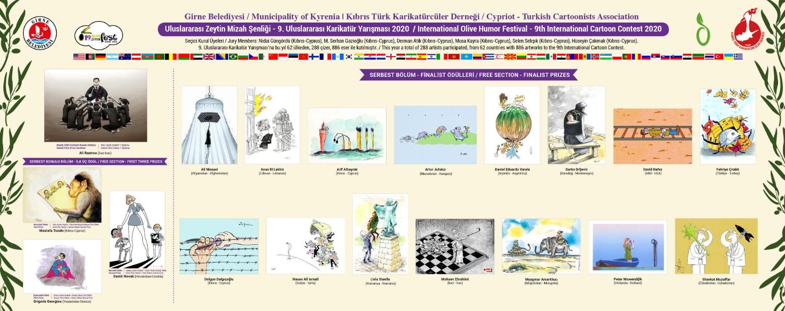 Zeytin Karikatürleri web sitesi yeniden hizmette