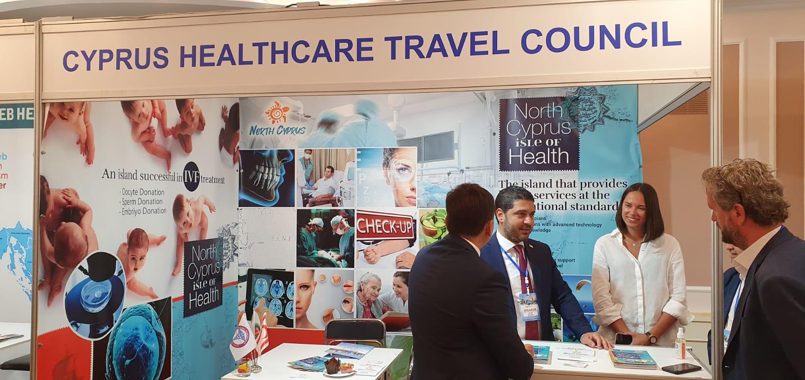 Dünya Sağlık Turizmi Formu'nda KKTC'yi Ahmet Savaşan temsil etti