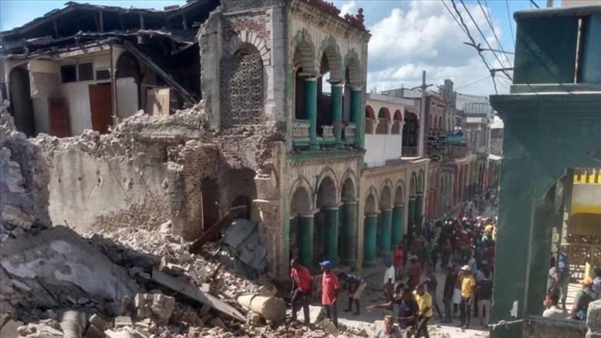 Haiti'de ölü sayısı 2 bin 200'ü geçti
