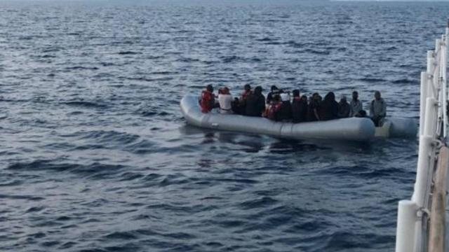 Tunus açıklarında 231 göçmen yakalandı