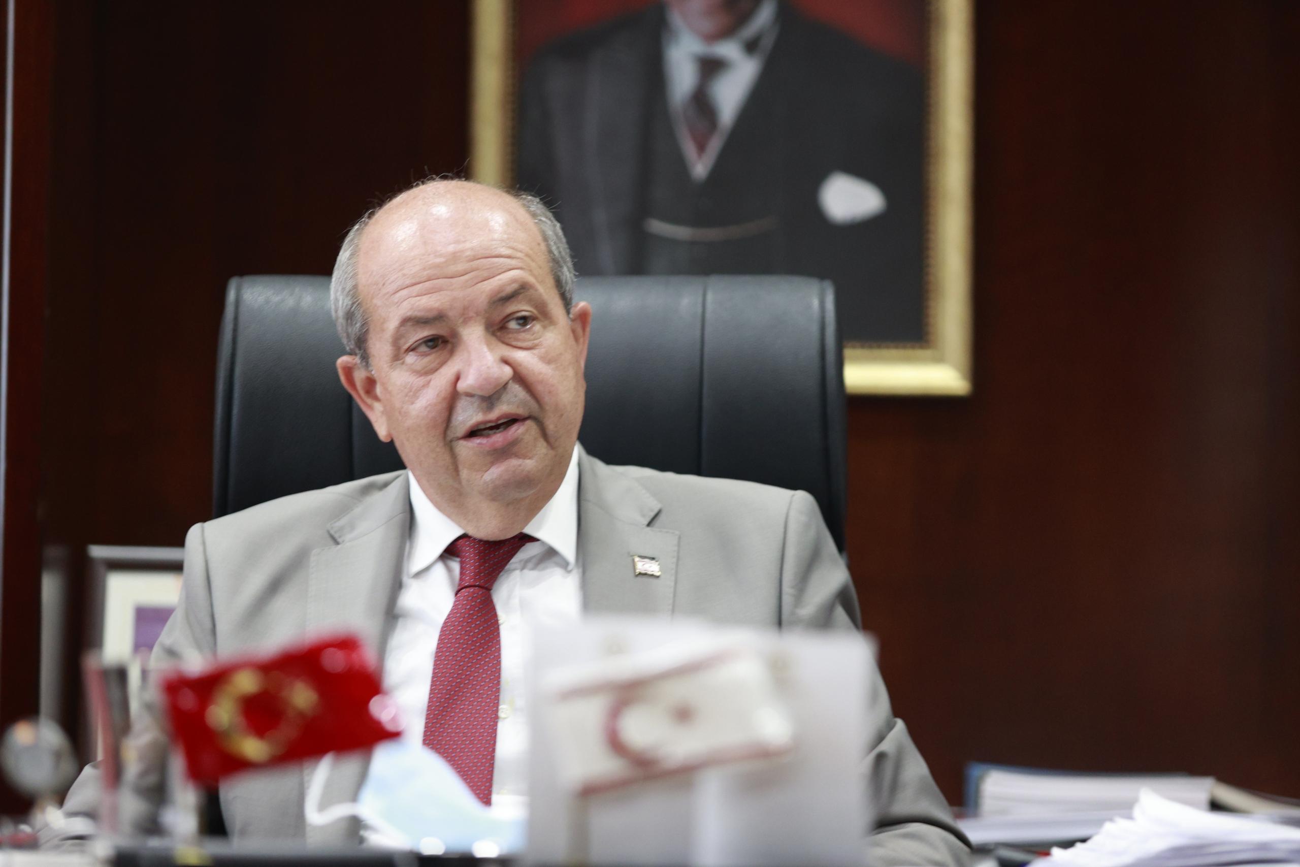 Cumhurbaşkanı Tatar'dan halka aşı olun çağrısı