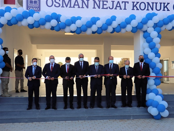 Osman Nejat Konuk Ortaokulu açıldı