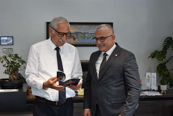 Sivil Savunma Başkanı'ndan Güngördü'ye ziyaret
