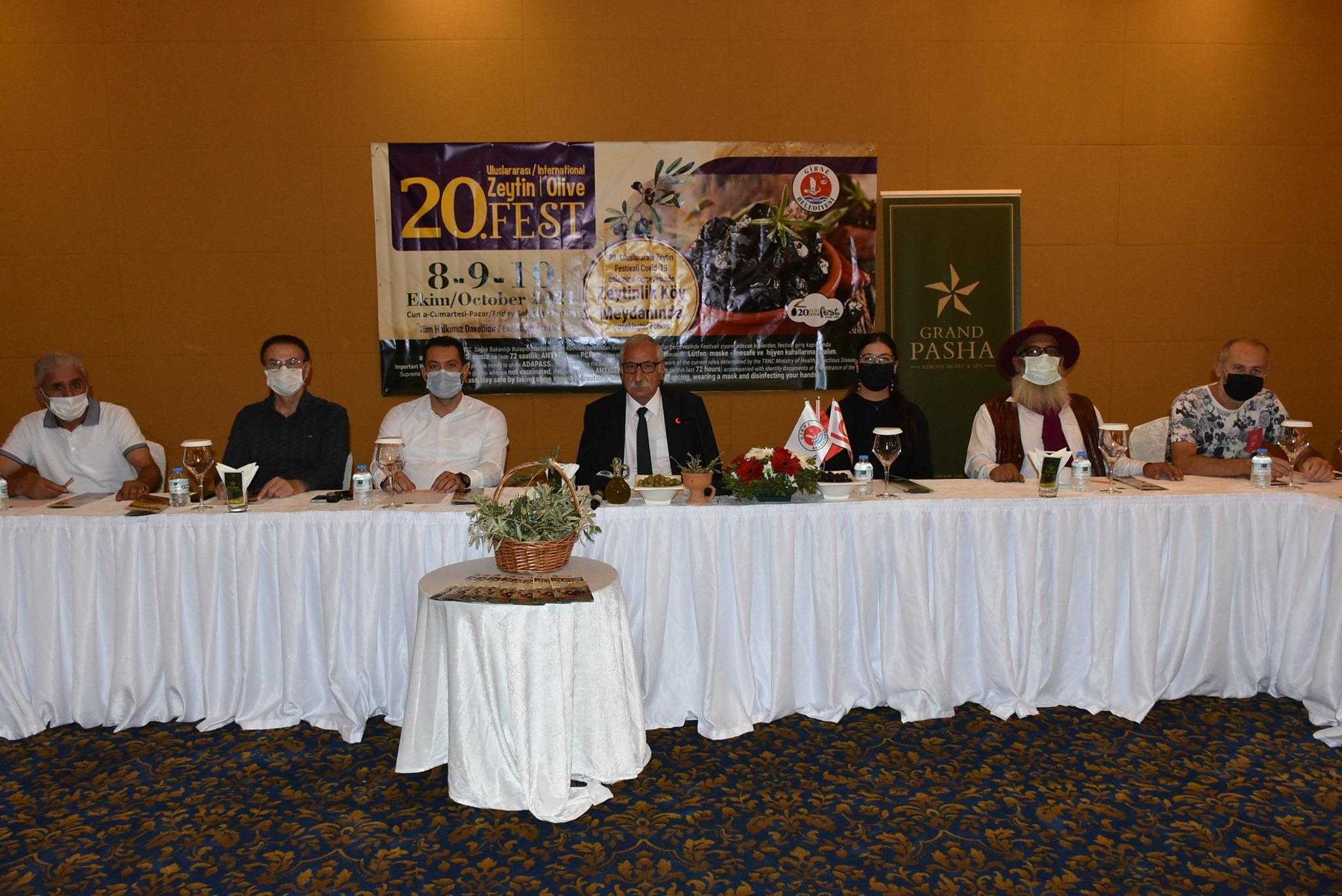 20. Uluslararası Zeytin Festivali tanıtıldı