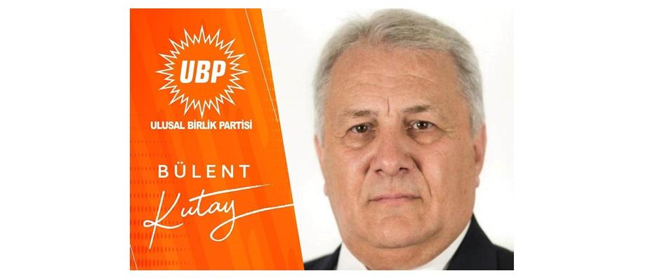 UBP Girne İlçe Başkanlığı'nı Bülent Kutay kazandı