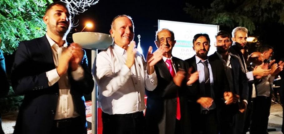 DP Adil Düzen Partisi başkanlığını yapan Yıldız'ın DP'ye katıldığını açıkladı